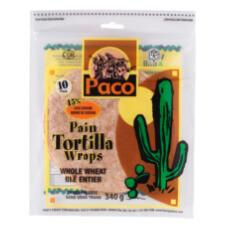 product tortilla whole wheat small