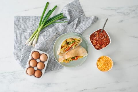 recipe breakfast pita