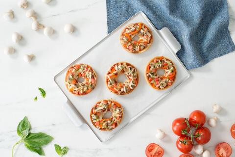 recipe pizza bagels